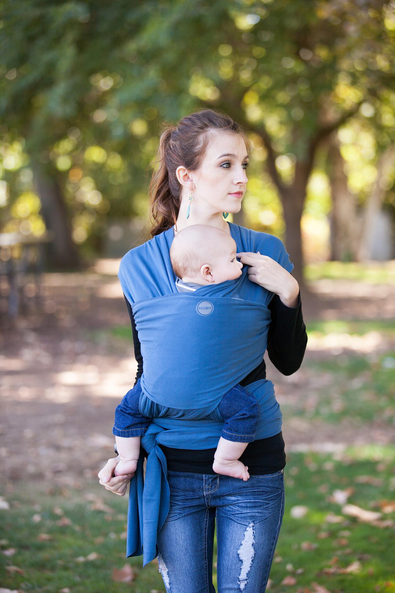 Moby Wrap elastický šátek Classic Marina