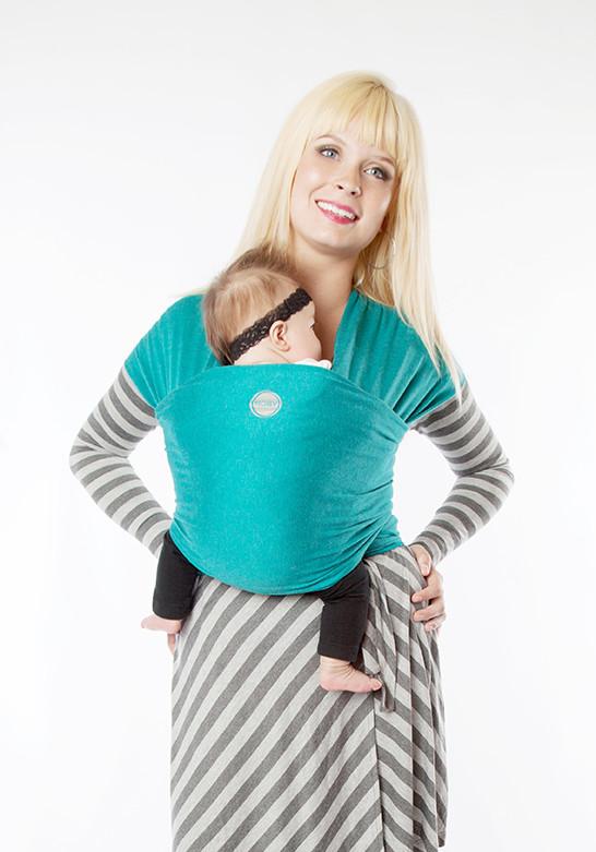 Moby Wrap elastický šátek Bamboo Teal
