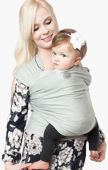 Moby Wrap elastický šátek Organic Sage