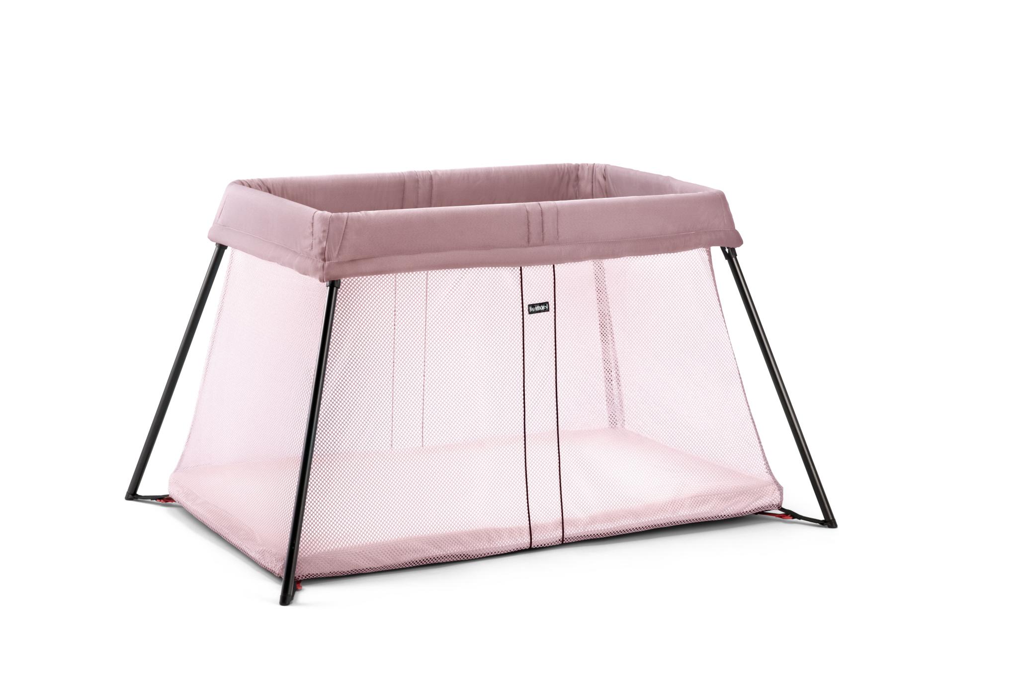 BabyBjörn cestovní postýlka Travel Crib Light Pink Doprava zdarma