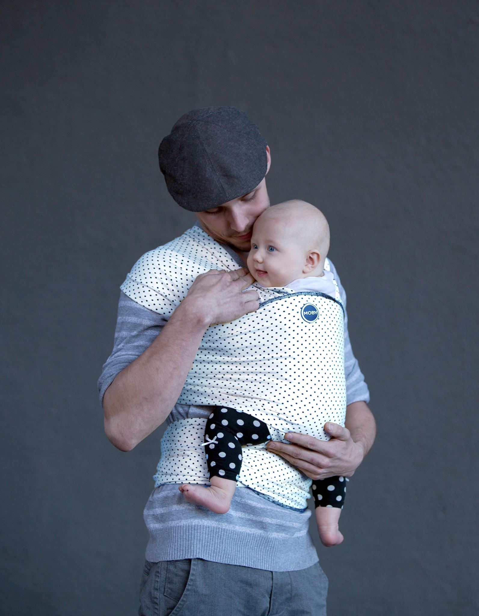 Moby Wrap elastický šátek Design Dots