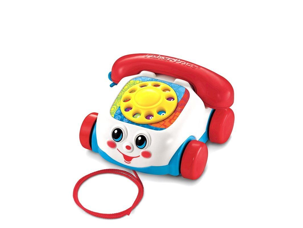 Fisher-Price tahací telefon Akční cena