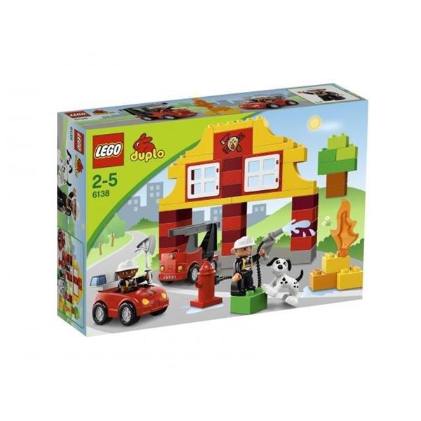 LEGO DUPLO 6138 Moje první hasičská stanice