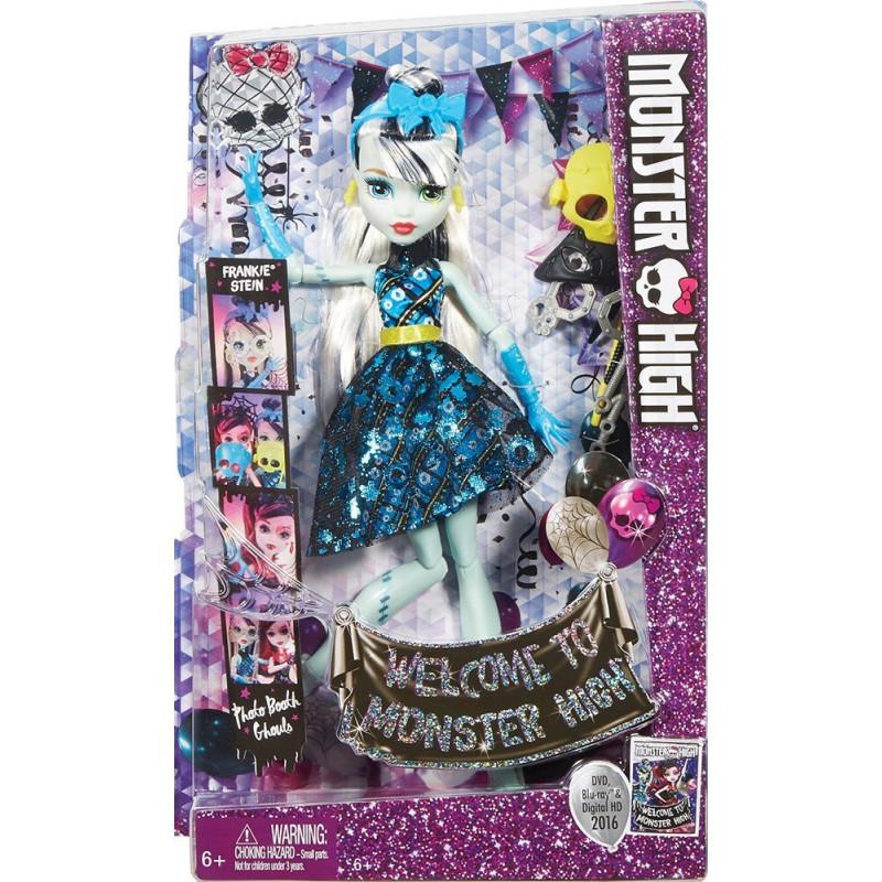 Monster High Frankie Stein s doplňky do fotokoutku