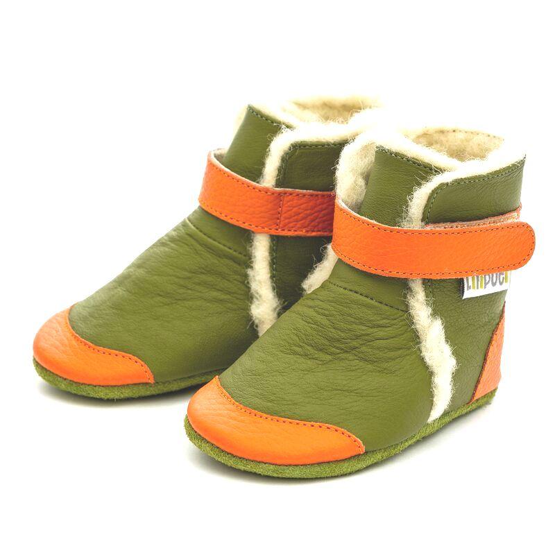 Liliputi zimní capáčky Jungle zelené Velikost: EUR 19