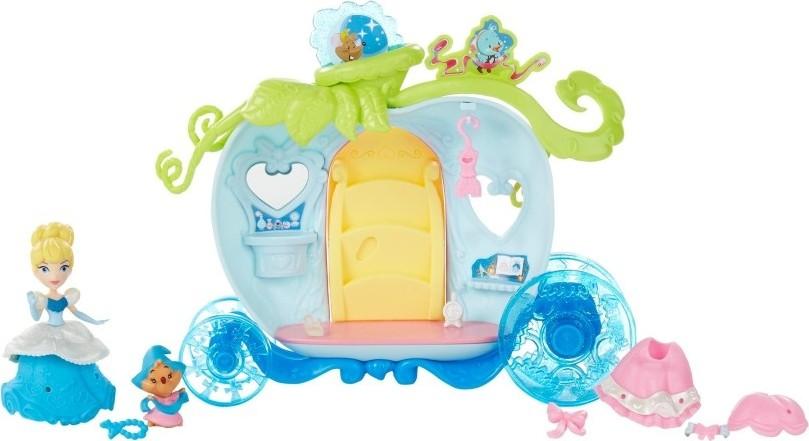 Disney Princess Mini hrací set s panenkou assort