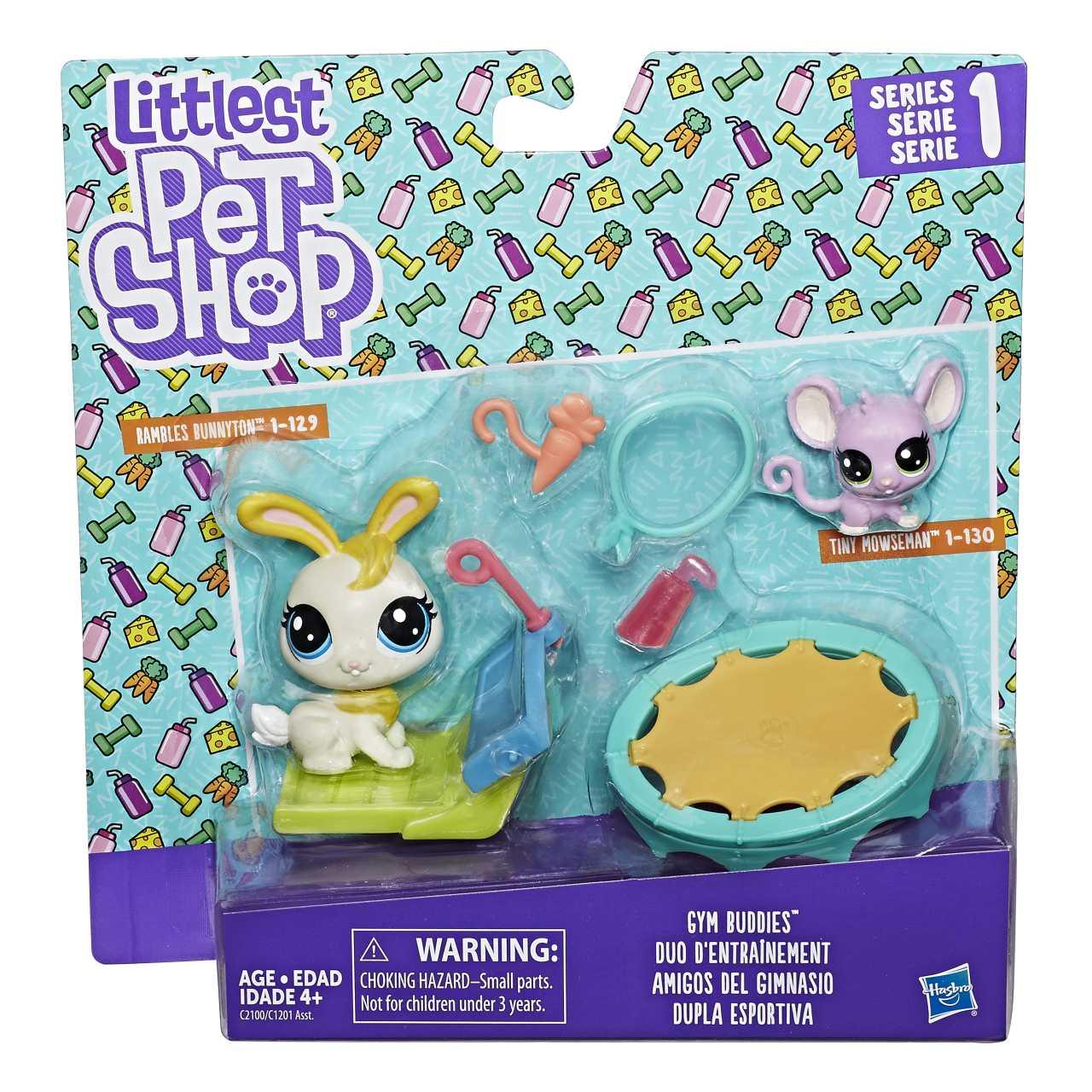 Hasbro Littlest Pet Shop Tematický set se 2 zvířátky (fall)