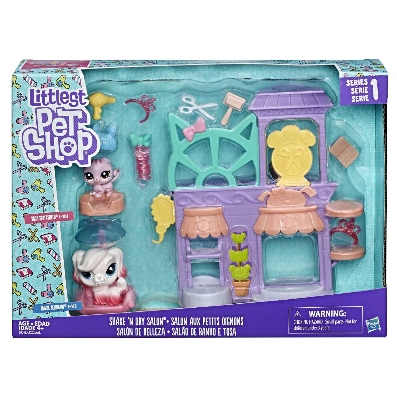 Hasbro Littlest Pet Shop Hrací set (fall) asst