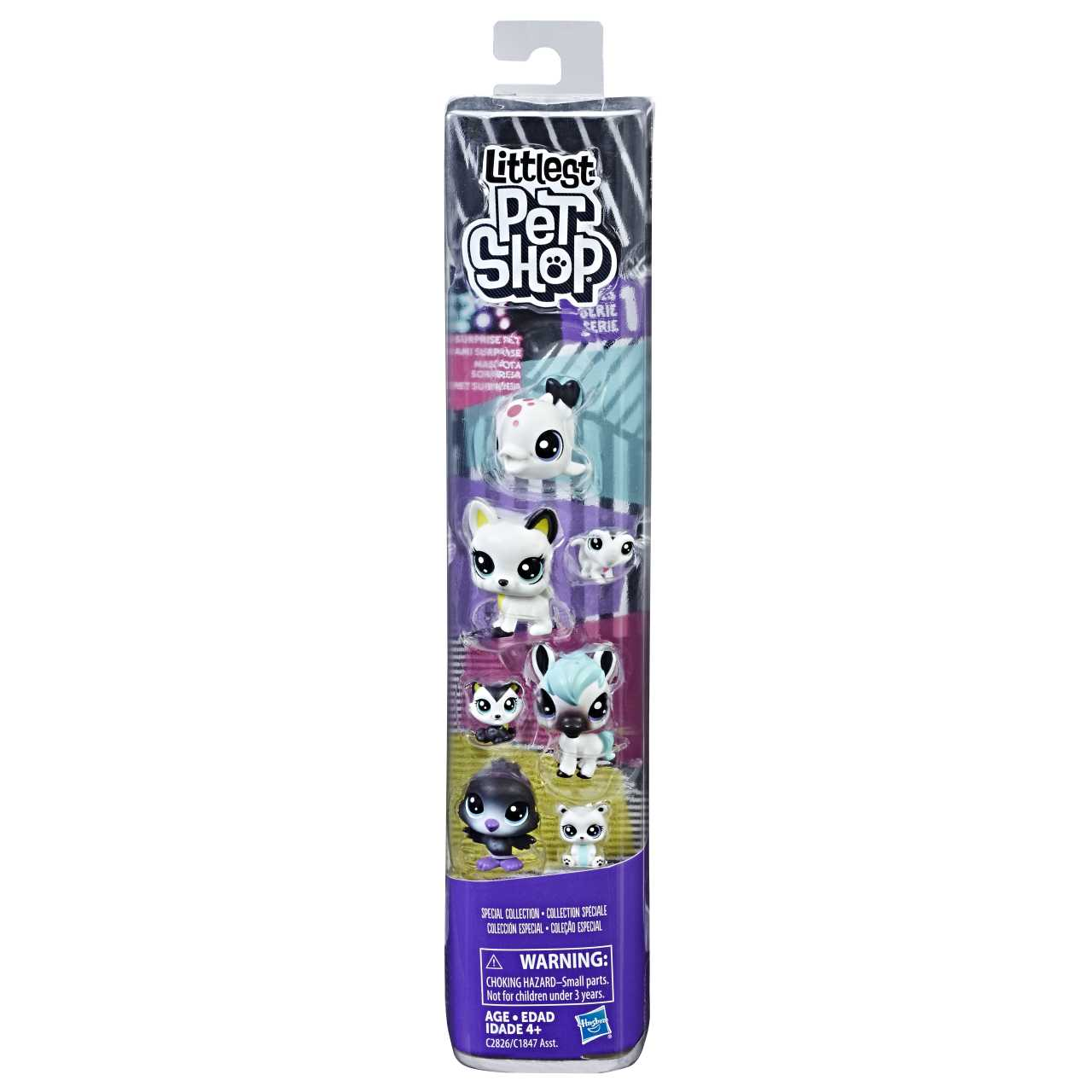 Littlest Pet Shop Černobílá zvířátka duo asst