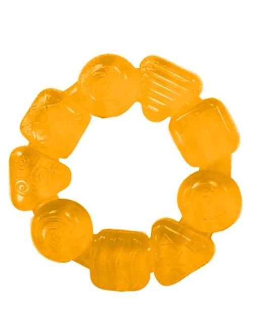 Kousátko Teethe Around žlutá 3m+