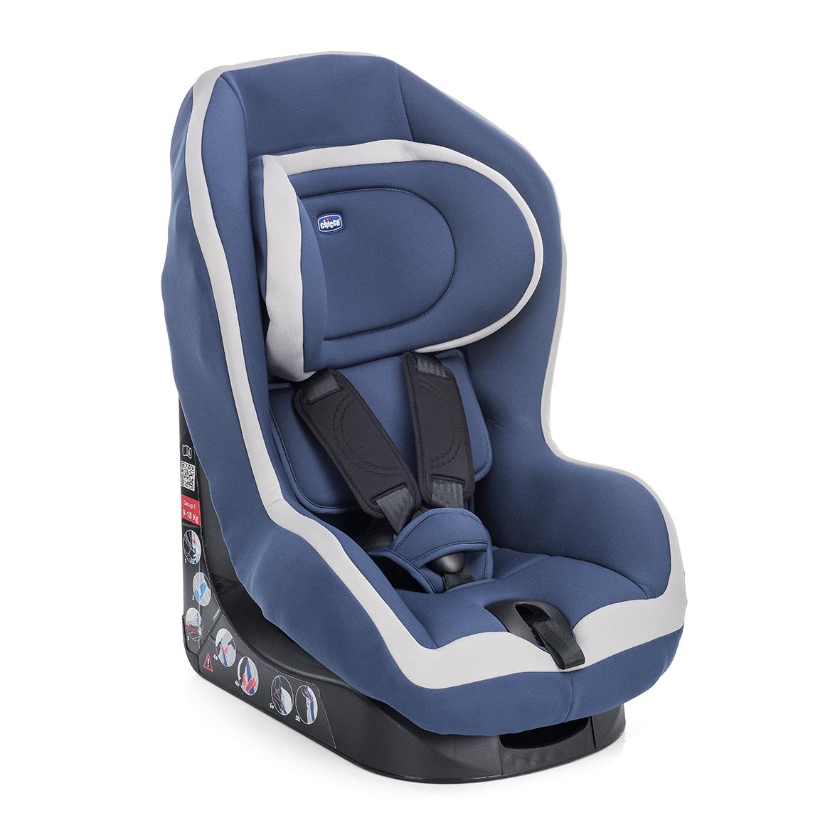 Autosedačka Go-One - BLUE 9-18 kg