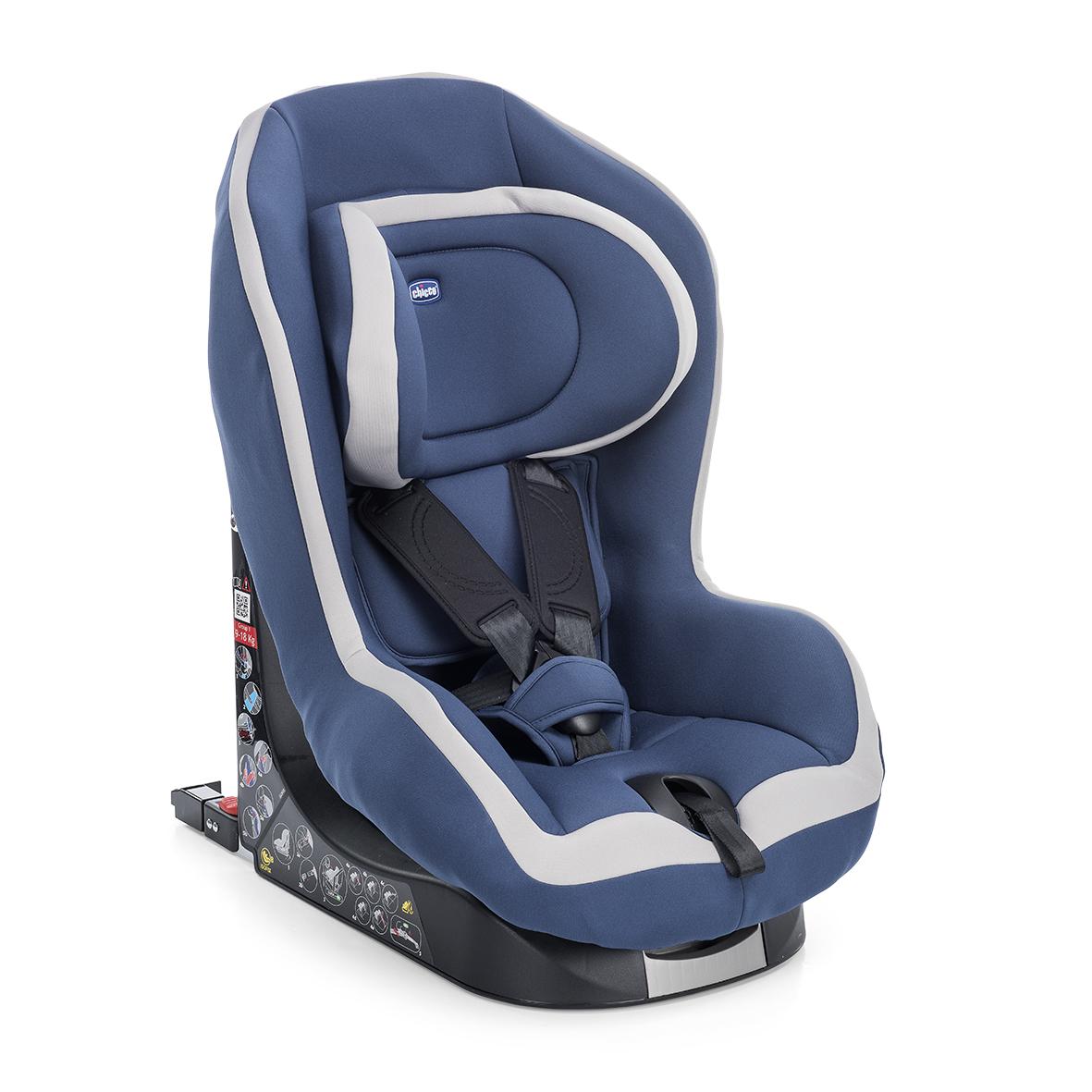 Autosedačka Go-One Isofix - BLUE 9-18 kg