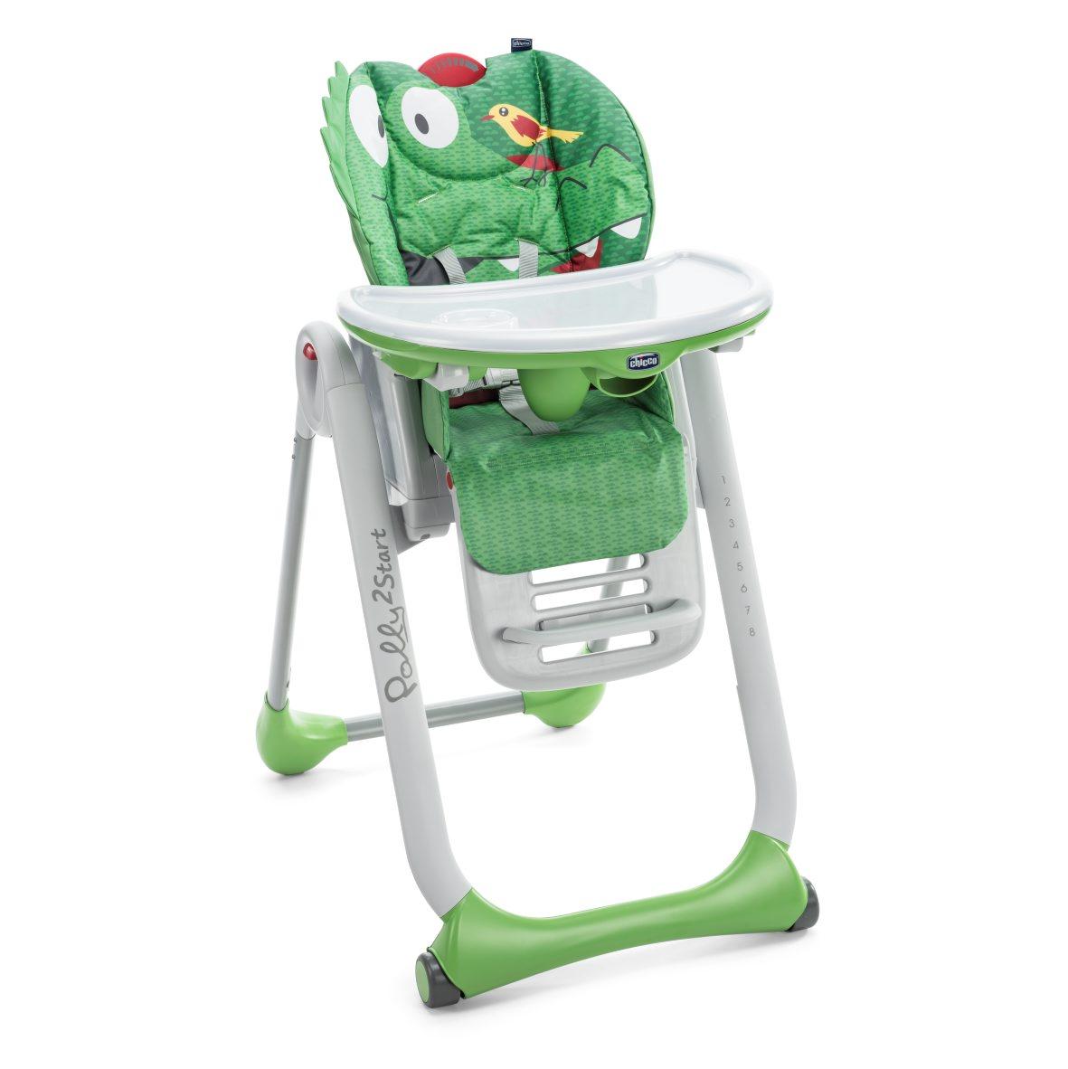 Židlička jídelní Polly 2 Start - CROCODILE