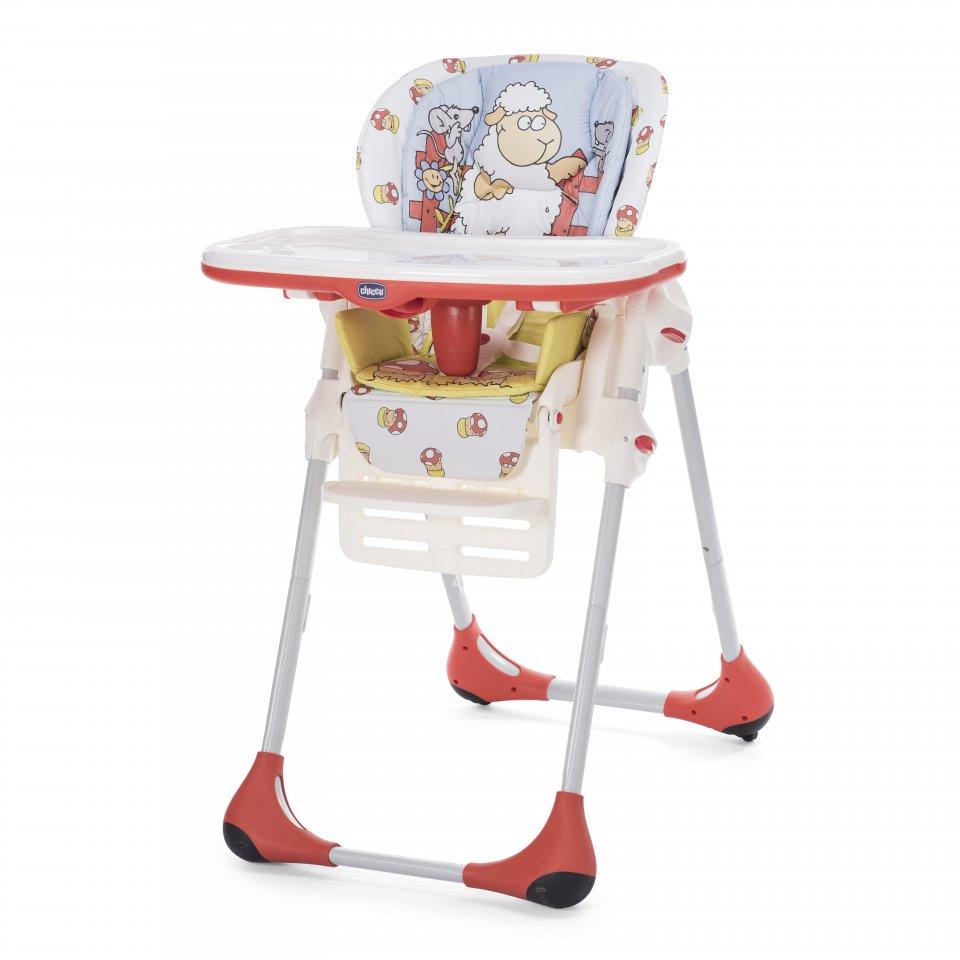 Židlička jídelní Polly 2v1 - Dolly
