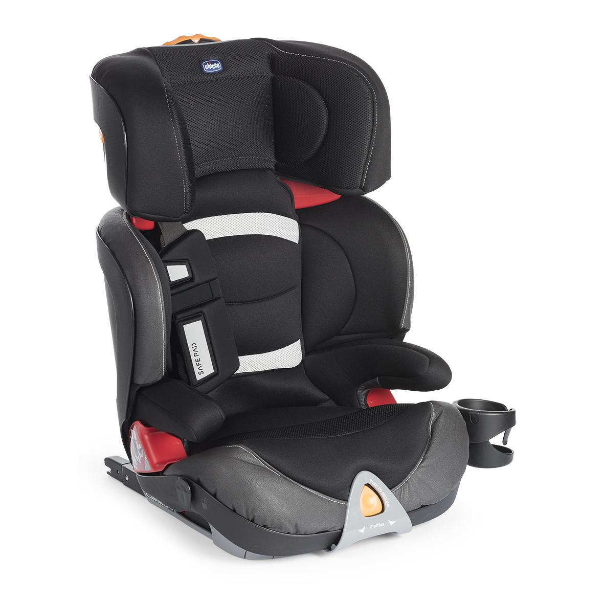 Autosedačka Oasys 2-3 FixPlus Evo - BLACK NIGHT 15-36 kg
