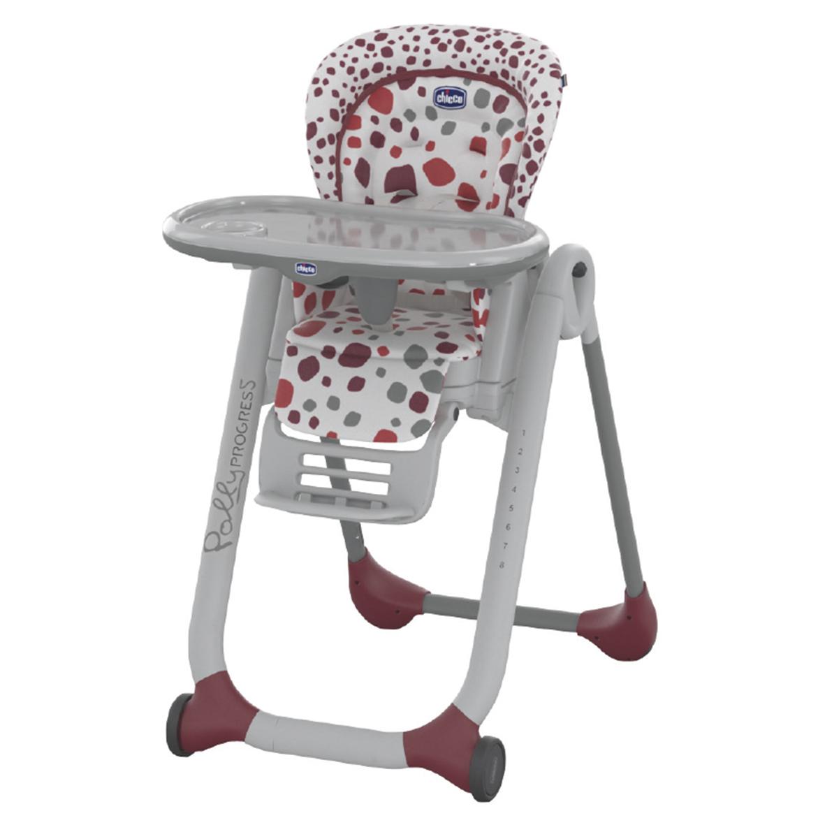 Židlička jídelní Polly Progress - CHERRY