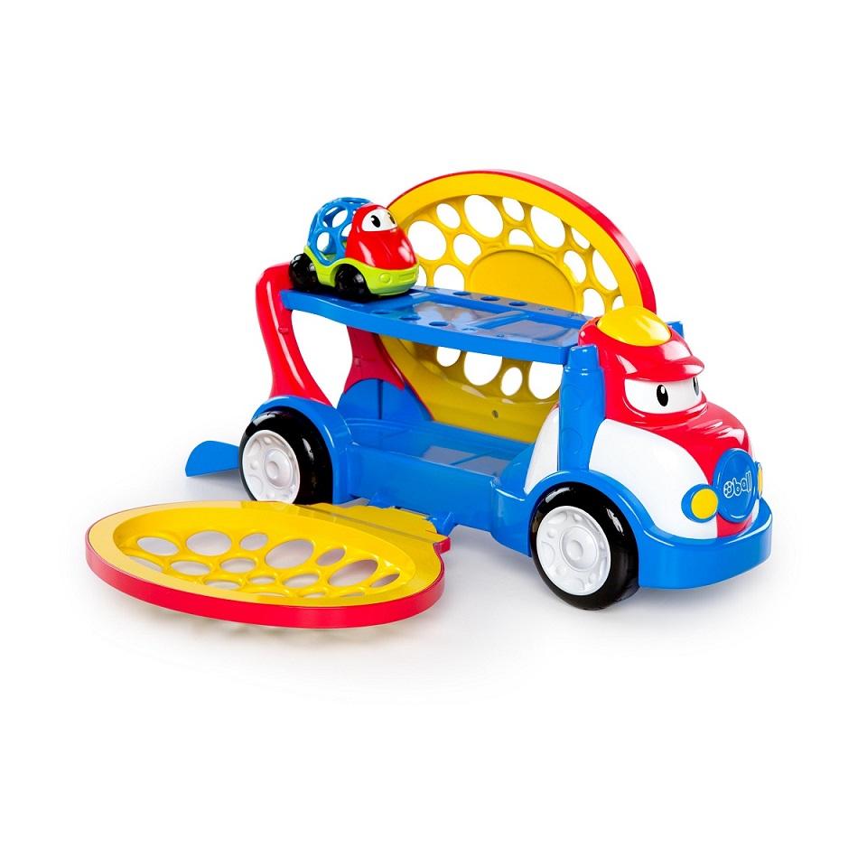 Hračka přepravník Grumpy + autíčko Dave Oball Go Grippers™ 18m+