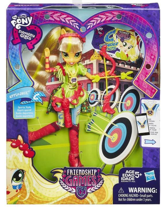 Hasbro My Little Pony EG Sportovní panenka Apple Jack Akční cena