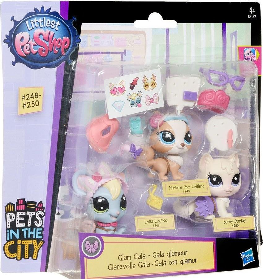 Littlest Pet Shop ZVÍŘÁTKO S DOPLŇKEM 248-250