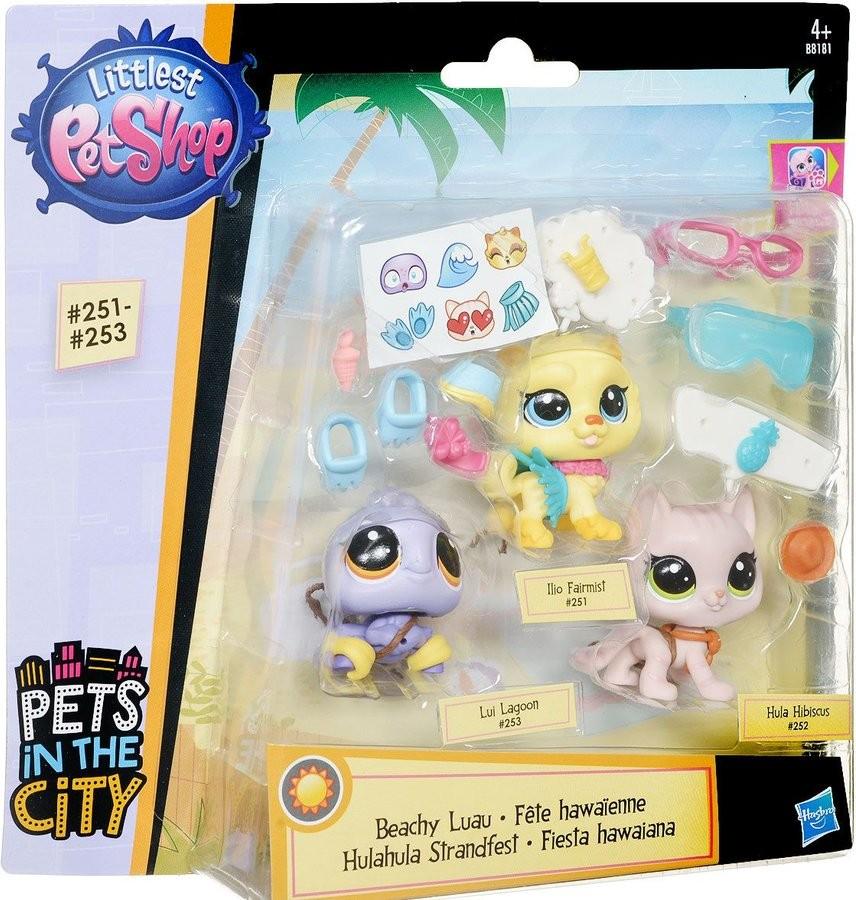 Littlest Pet Shop ZVÍŘÁTKO S DOPLŇKEM 251-253
