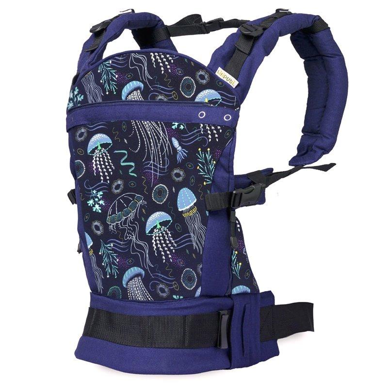 Liliputi ergonomické nosítko Deep Blue - Mořský svět