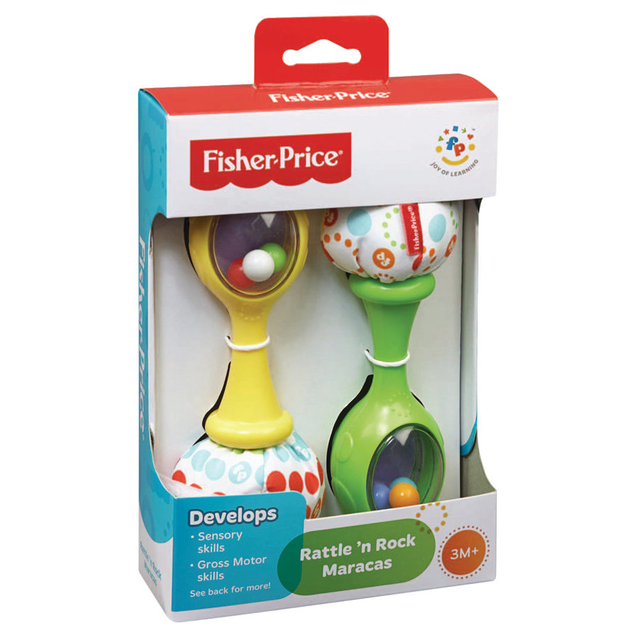 Fisher-Price Chrastící rumba koule