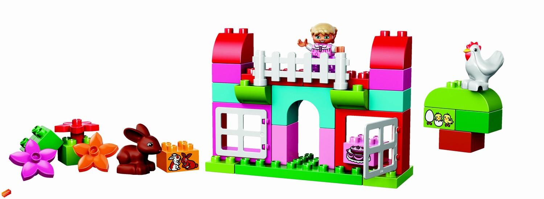 LEGO Duplo Růžový box plný zábavy