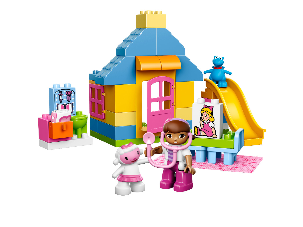 LEGO Duplo Doktorka Plyšáková:Ordinace na dvorku