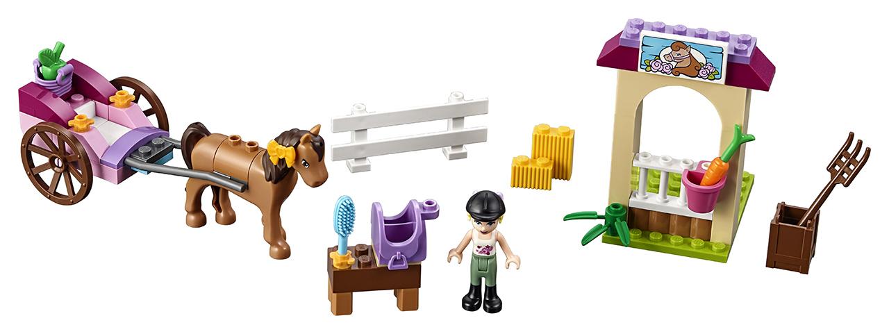LEGO Juniors Stephanie a kočár s koníkem