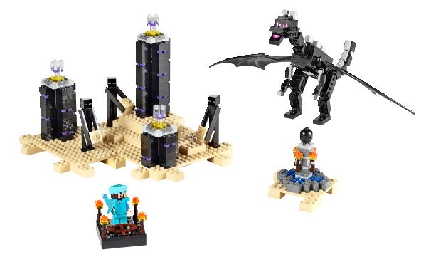 LEGO Minecraft Drak Ender