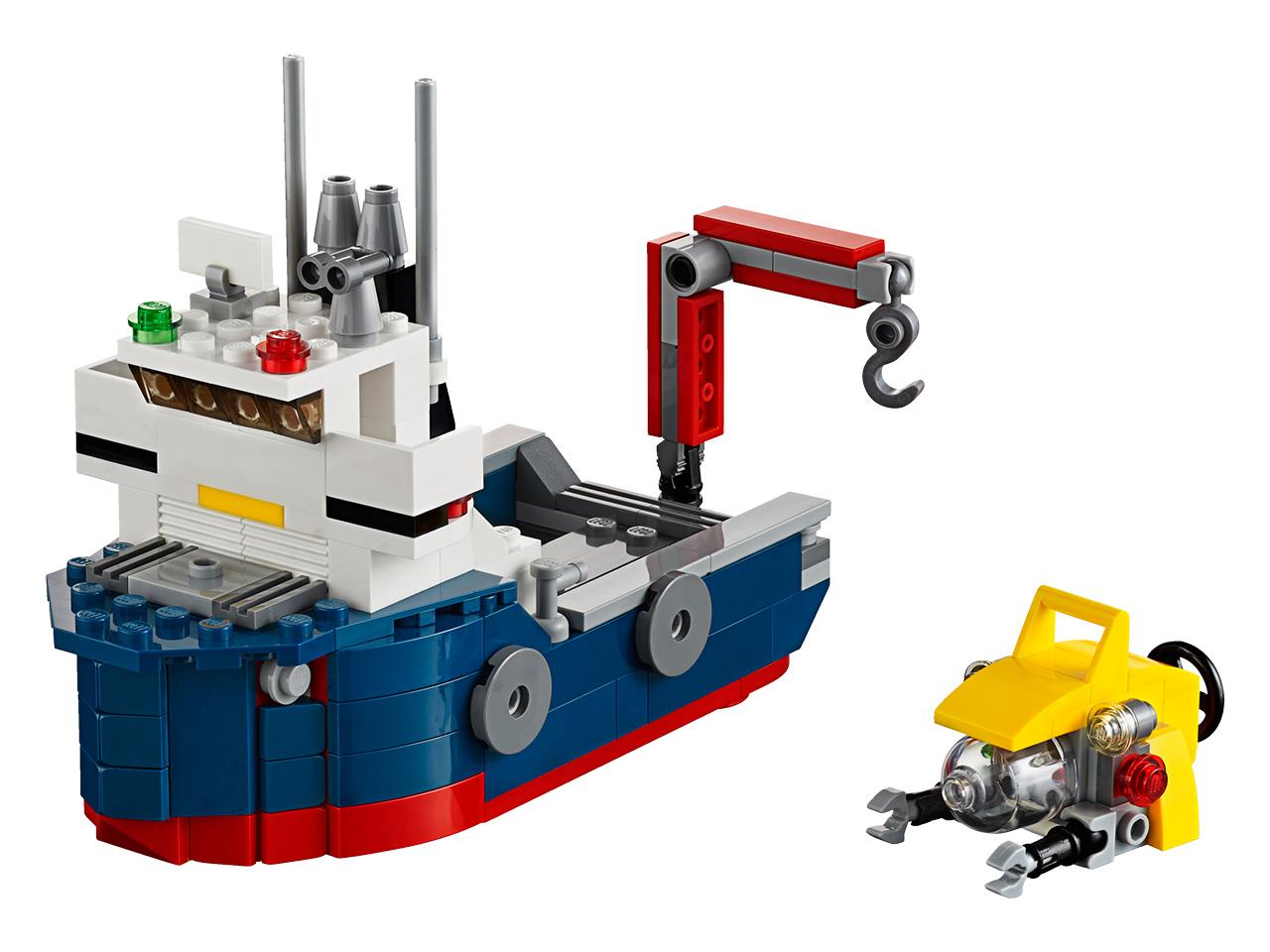 LEGO Creator Průzkumník oceánu