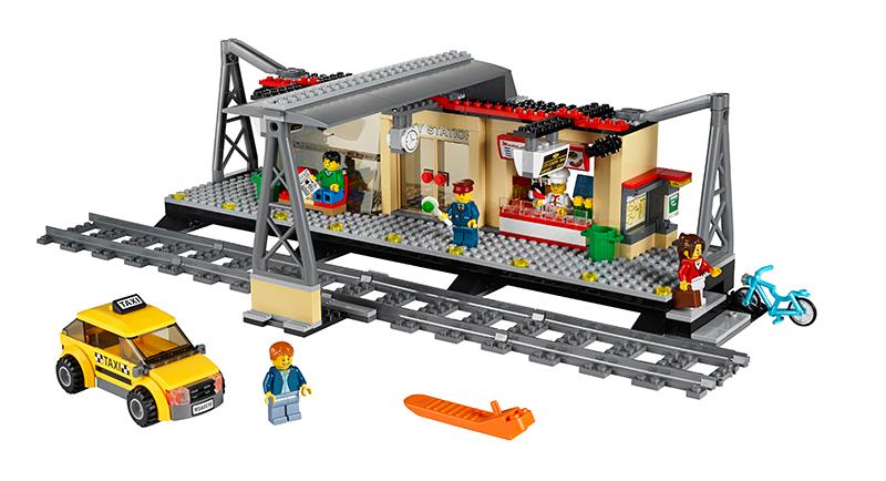 LEGO City Nádraží