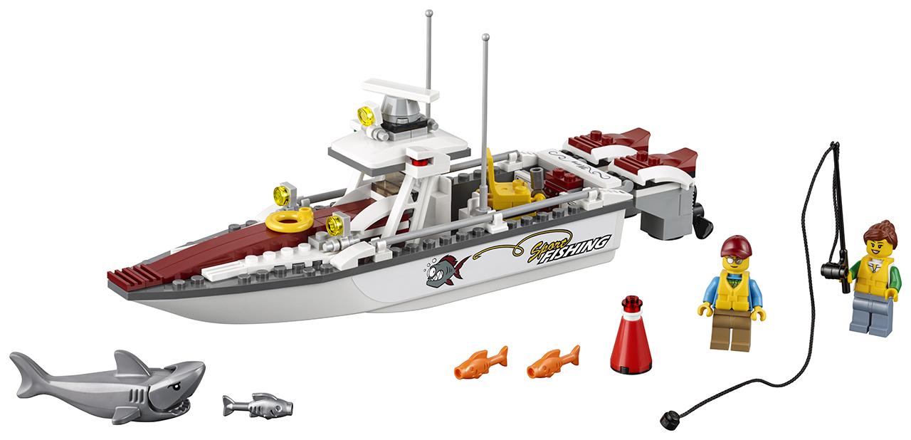 LEGO City Rybářská loďka