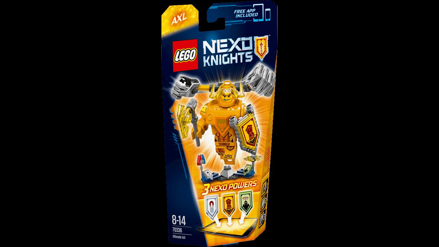 LEGO Nexo Knights 70336 Úžasný Axl Akční cena