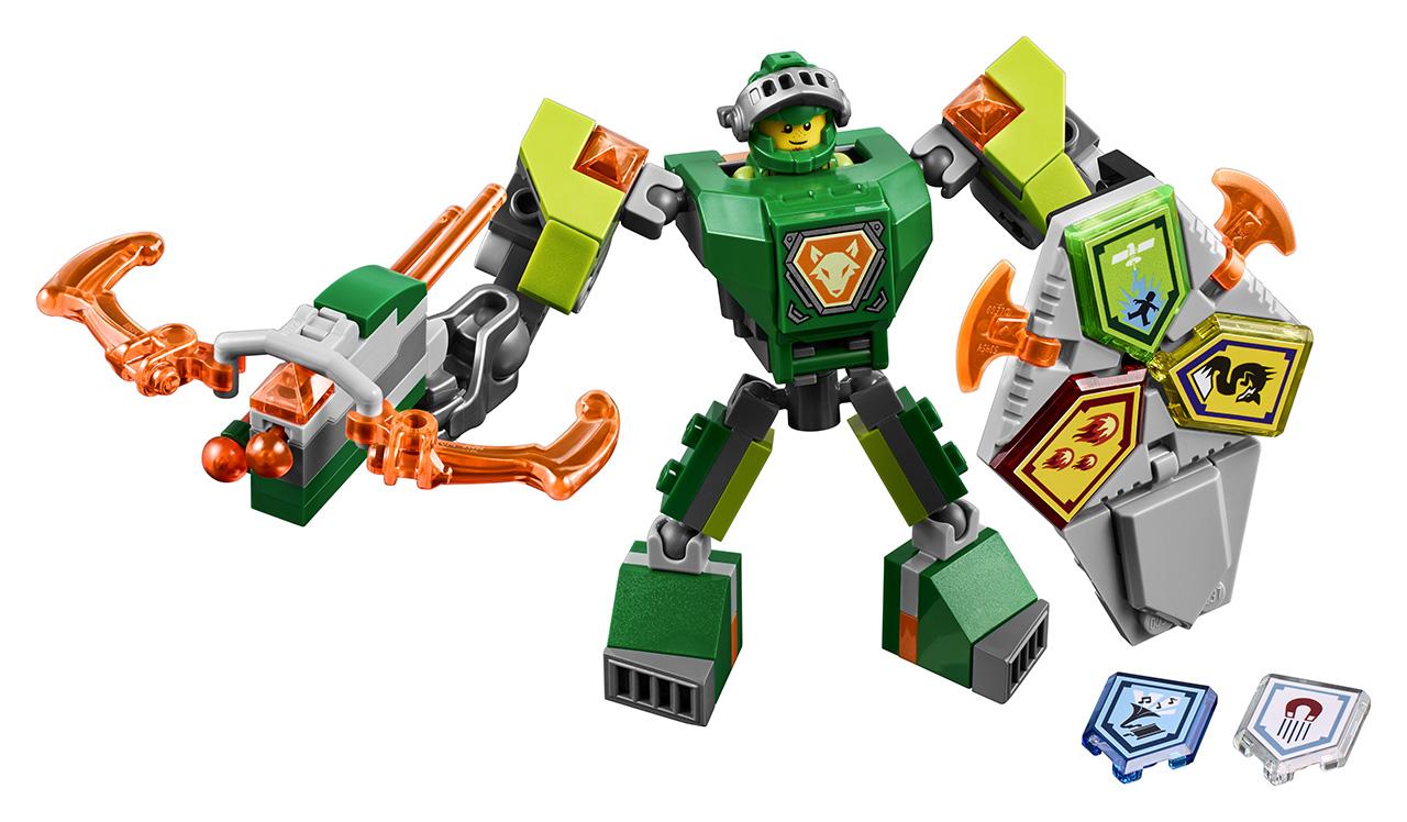 LEGO Nexo Knights Aaron v bojovém obleku