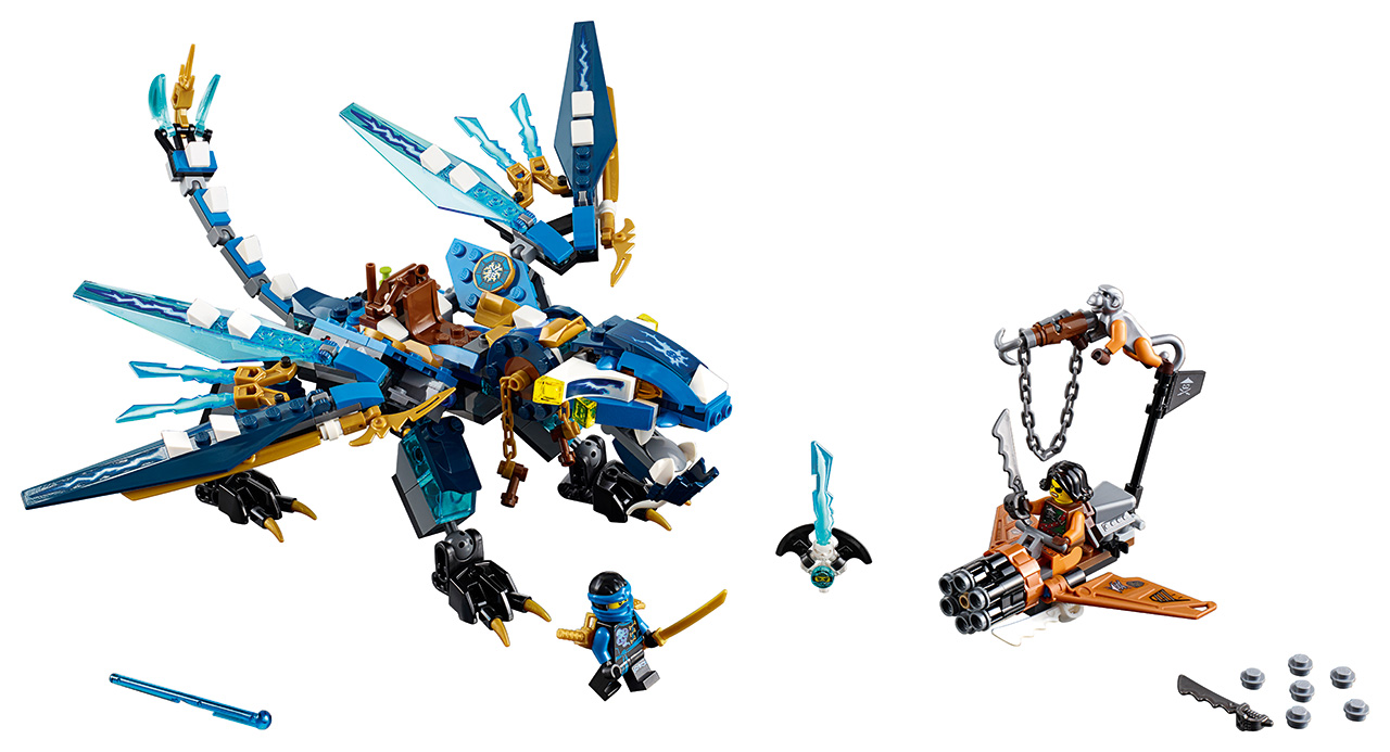 LEGO Ninjago Jayův drak blesku