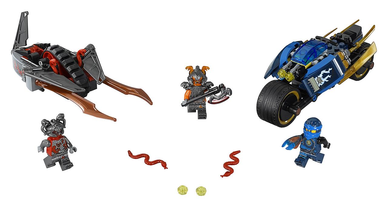 LEGO Ninjago Pouštní blesk