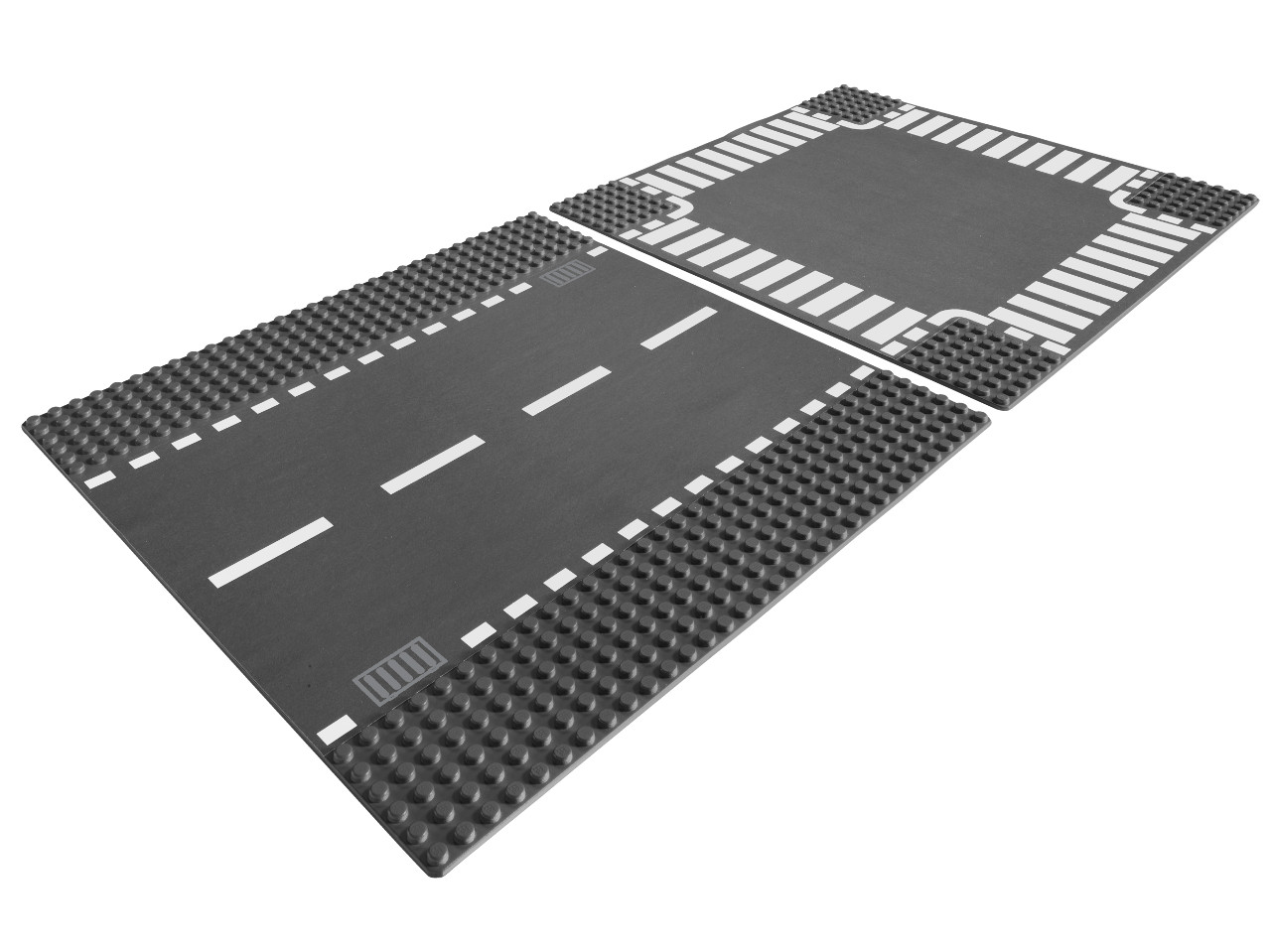 LEGO City Rovná silnice a křižovatka