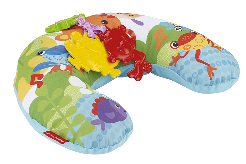 Mattel Fisher-Price PODPŮRNÁ PODLOŽKA POD BŘÍŠKO RAINFOREST