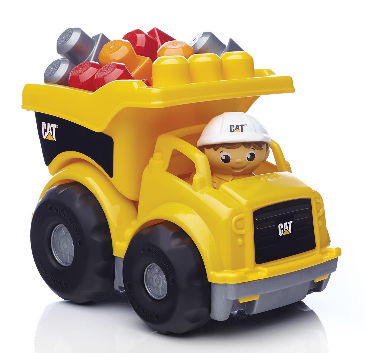 Mattel Mega Bloks CAT NÁKLAĎÁK