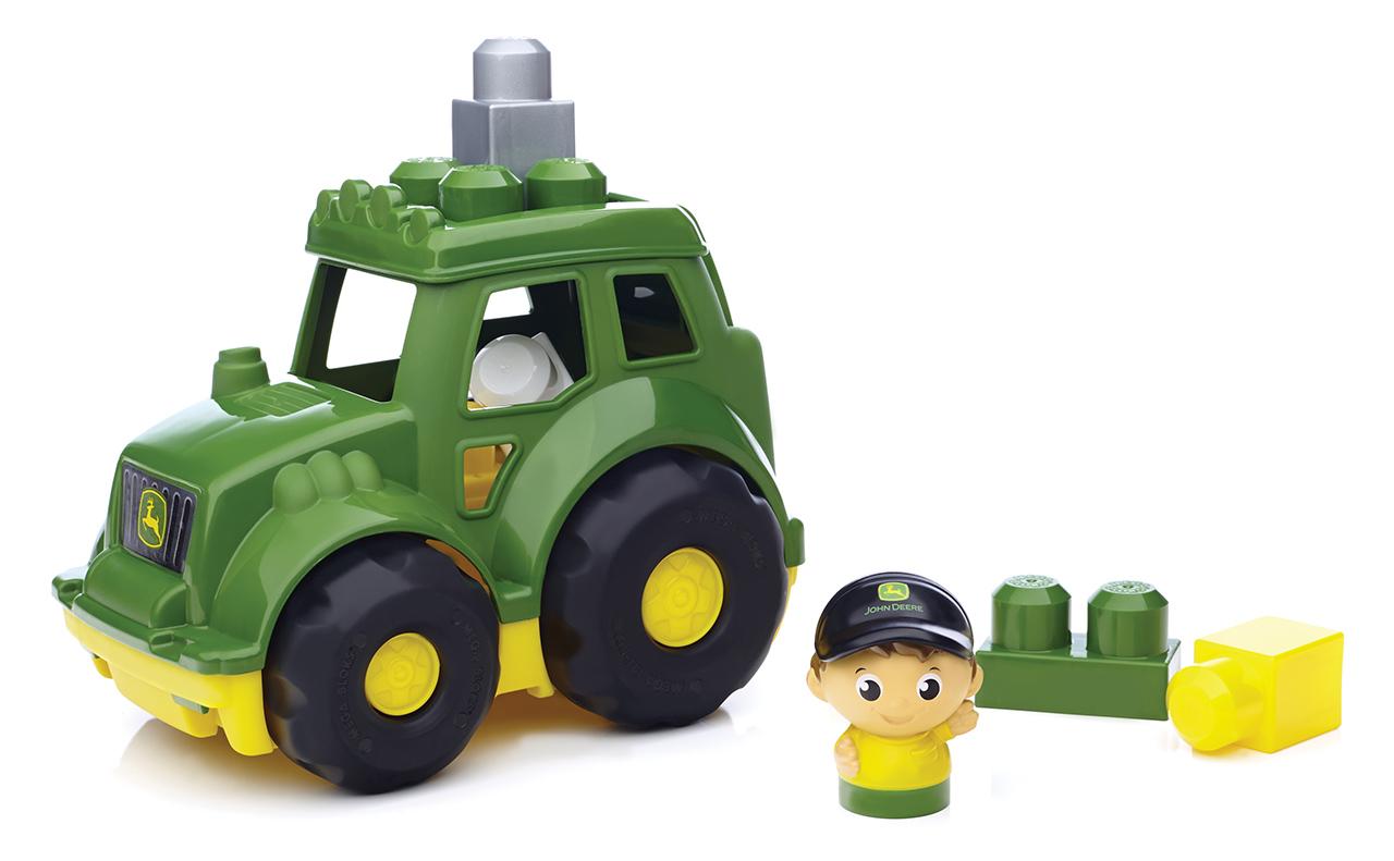 Mattel Mega Bloks JOHN DEERE TRAKTOR