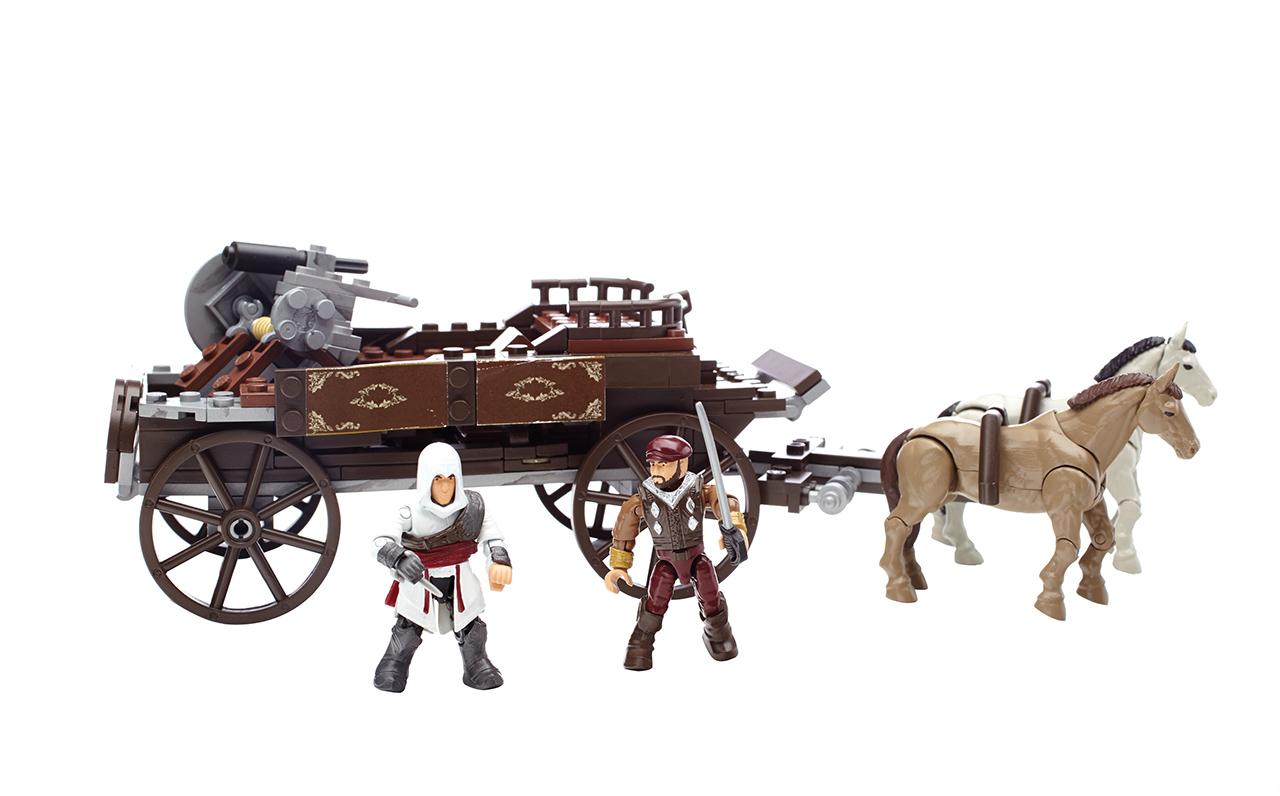Mattel Mega Bloks Assassin's Creed POVOZ
