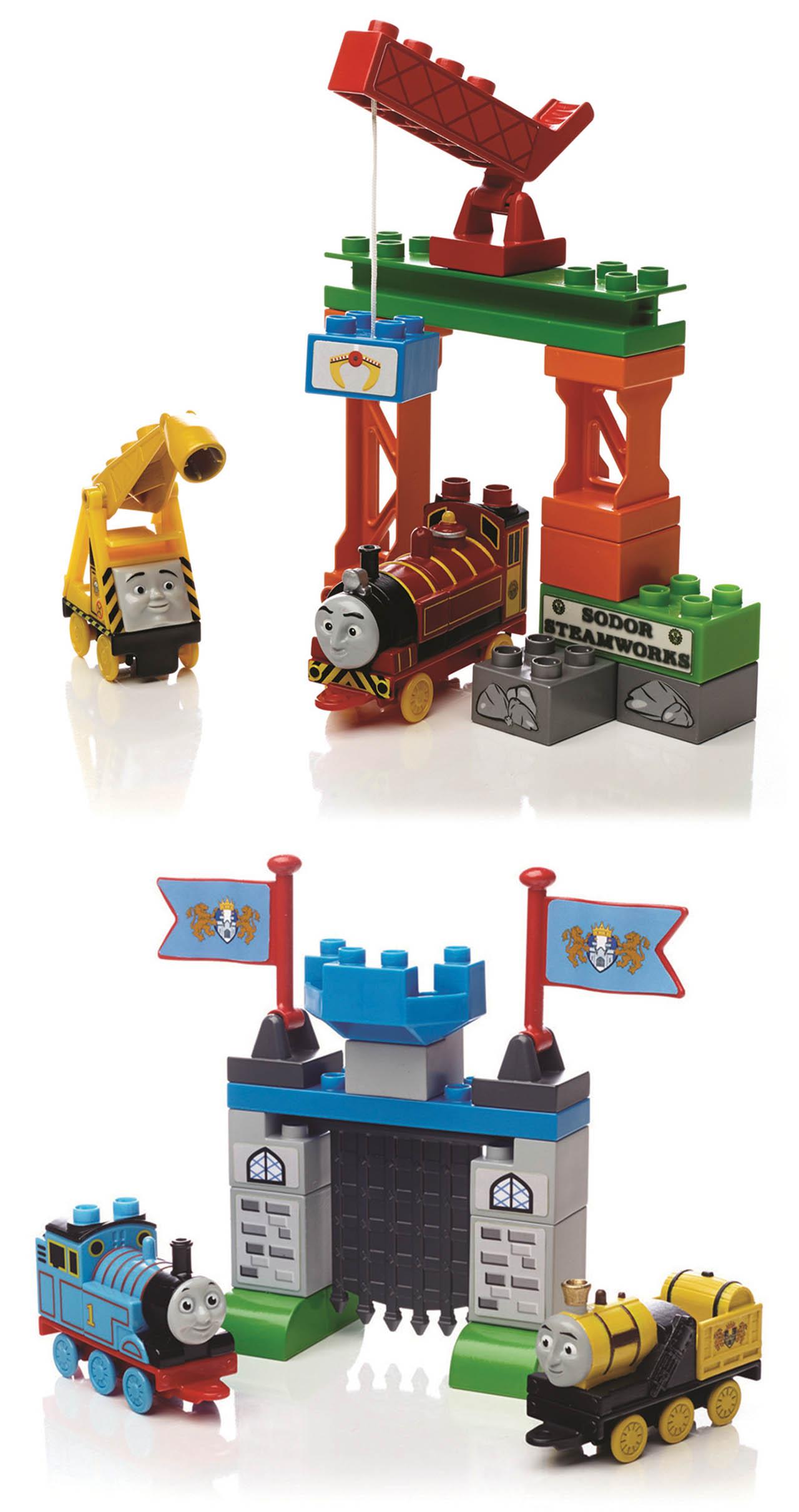 Mattel Mega Bloks Thomas FRIENDSHIP EXPRESS COLLECTION