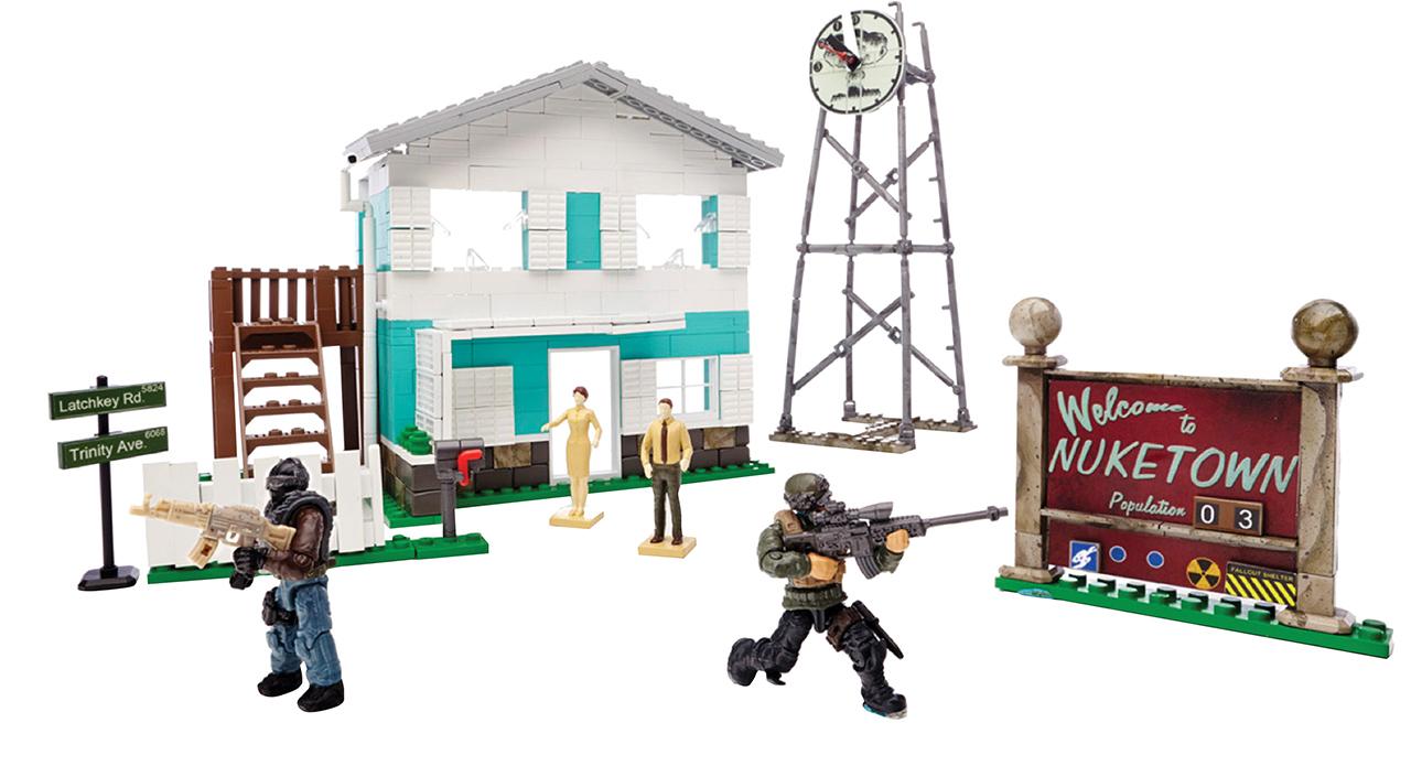 Mattel Mega Bloks CoD MĚSTEČKO NUKETOWN