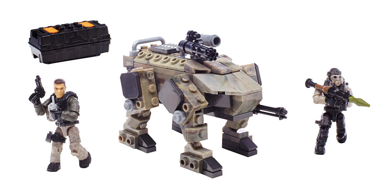 Mattel Mega Bloks CoD ÚTOK NA ZOMBÍKY