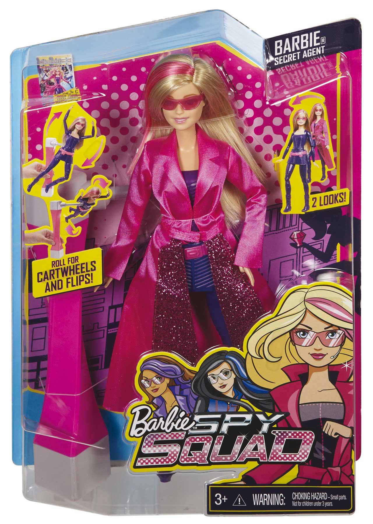 Mattel Barbie TAJNÁ AGENTKA