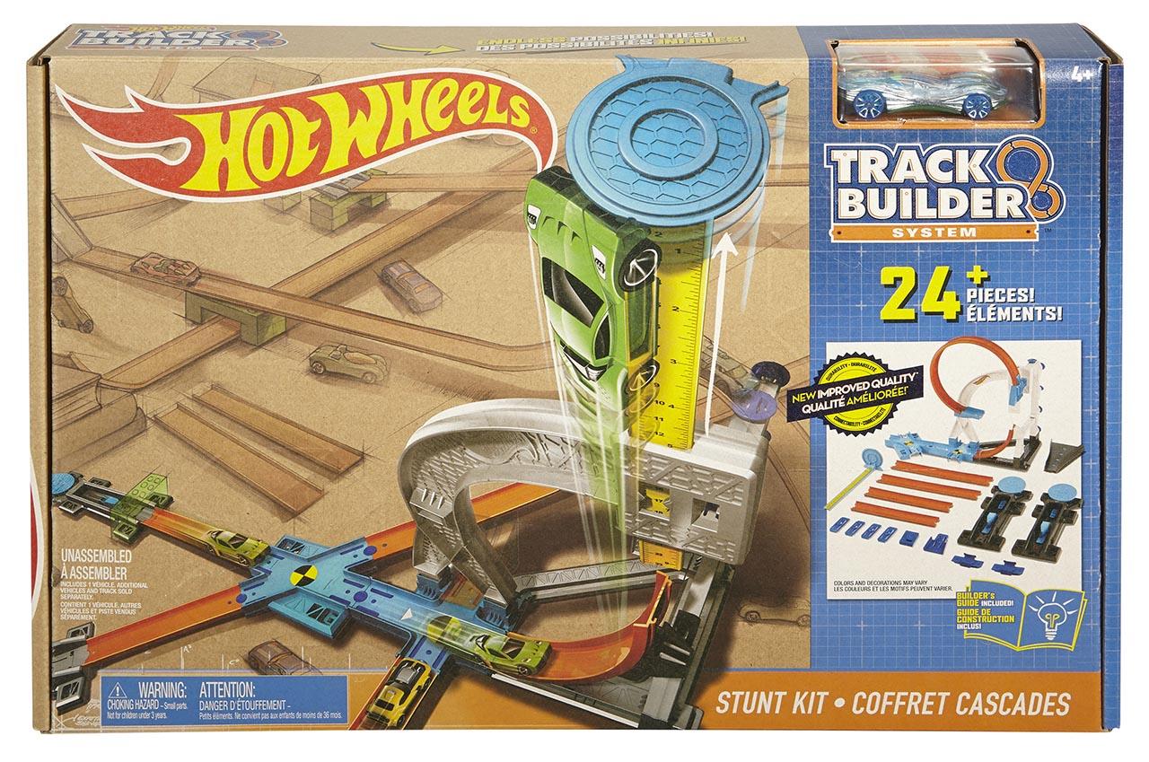 Mattel Hot Wheels TRACK BUILDER DRÁHA PRO LIŠÁCKÉ KOUSKY