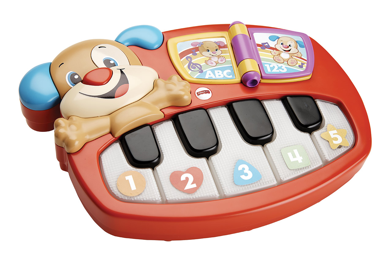 Mattel Fisher-Price PEJSKOVO PIANO CZ