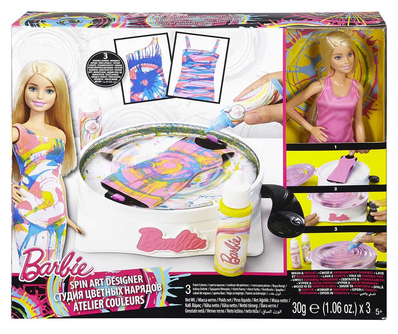 Mattel Barbie BARBIE A SPIRÁLOVÉ NÁVRHÁŘSTVÍ
