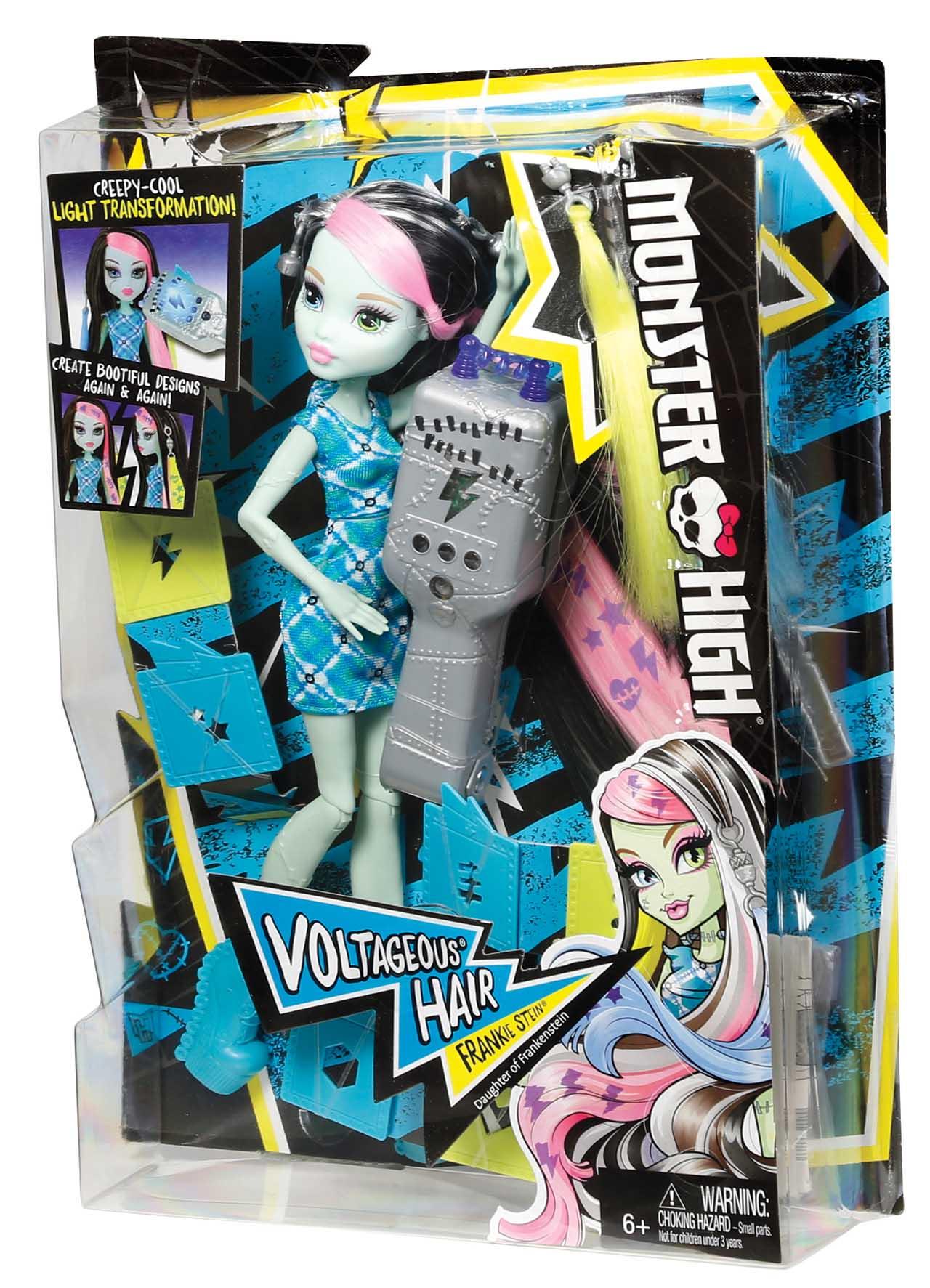 Mattel Monster High ELEKTRIZUJÍCÍ FRANKIE
